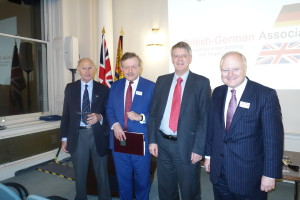 John Hobley, Lord Lexden, Prof. Dr Andreas, Stephen Watson