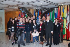 Youthbridge - students visit London for German in London event including talks at Embassy & European Bank for Reconstruction and Development in the heart of the City