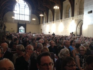 Westminster Hall audience